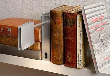 SLY Sonderanfertigung Bücherleuchte